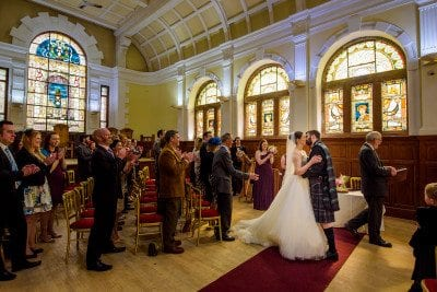 Pollokshields Burgh Hall Wedding Photography