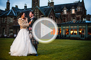 Wedding photographerCromlix House Dunblane