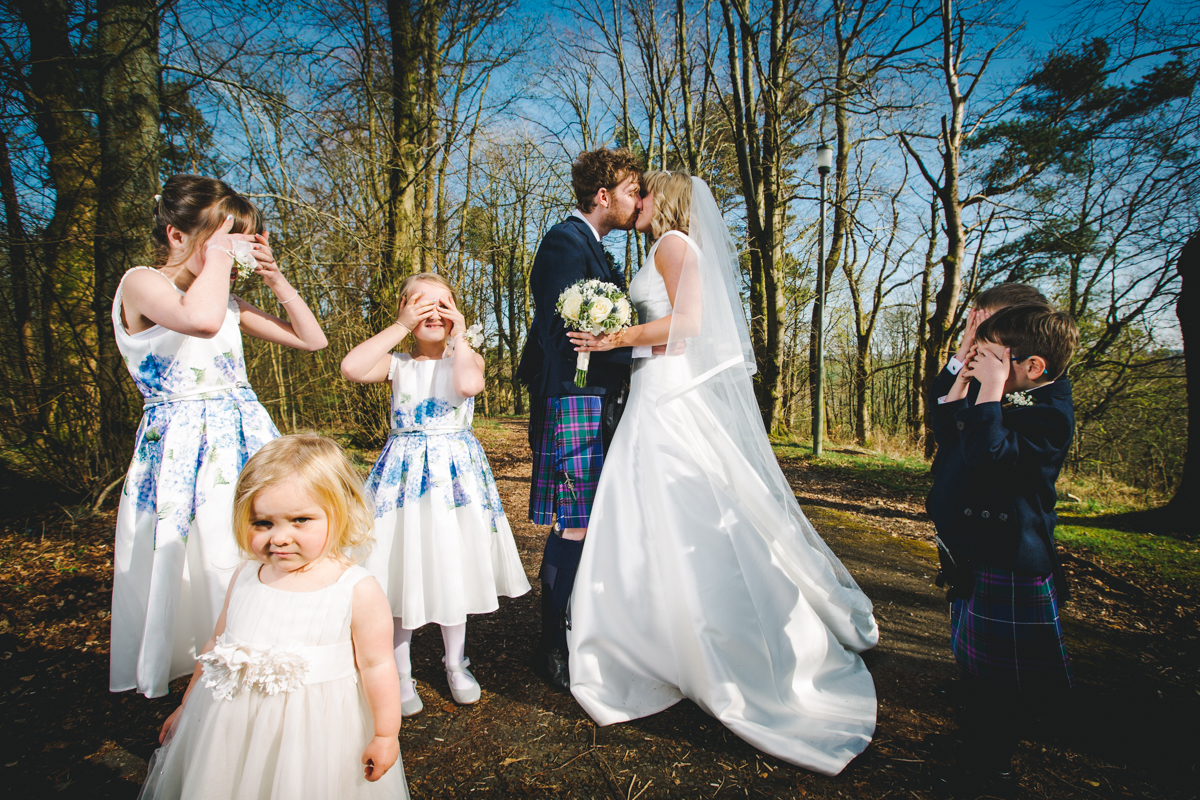 Wedding Photographers Glasgow Top Table Photography