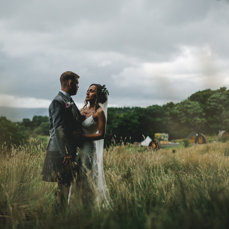 Eden Village wedding photographers Glasgow