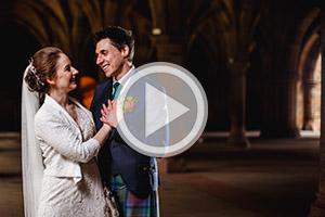 Oran Mor Glasgow Wedding Photographers