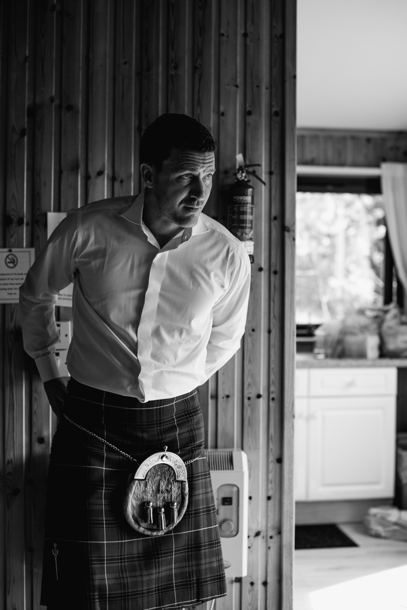 Culcreuch Castle Wedding Photographer
