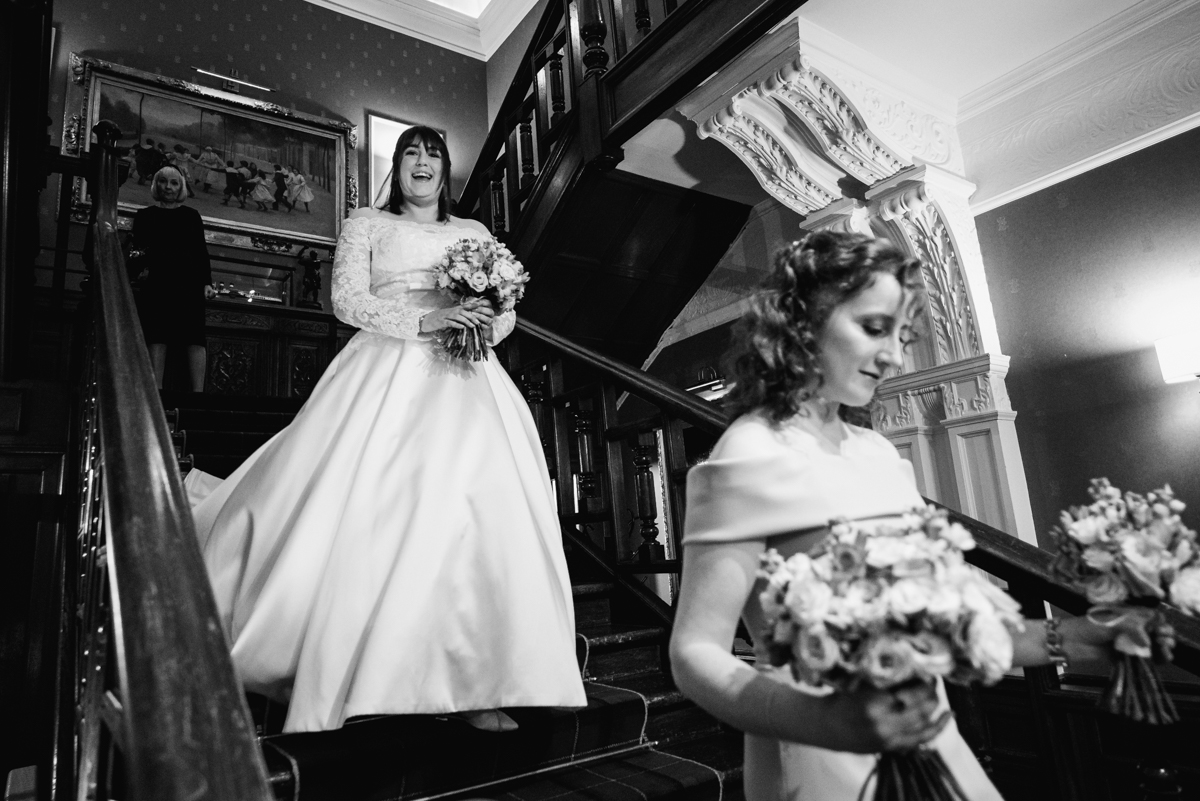 Sherbrooke Castle Wedding Photography