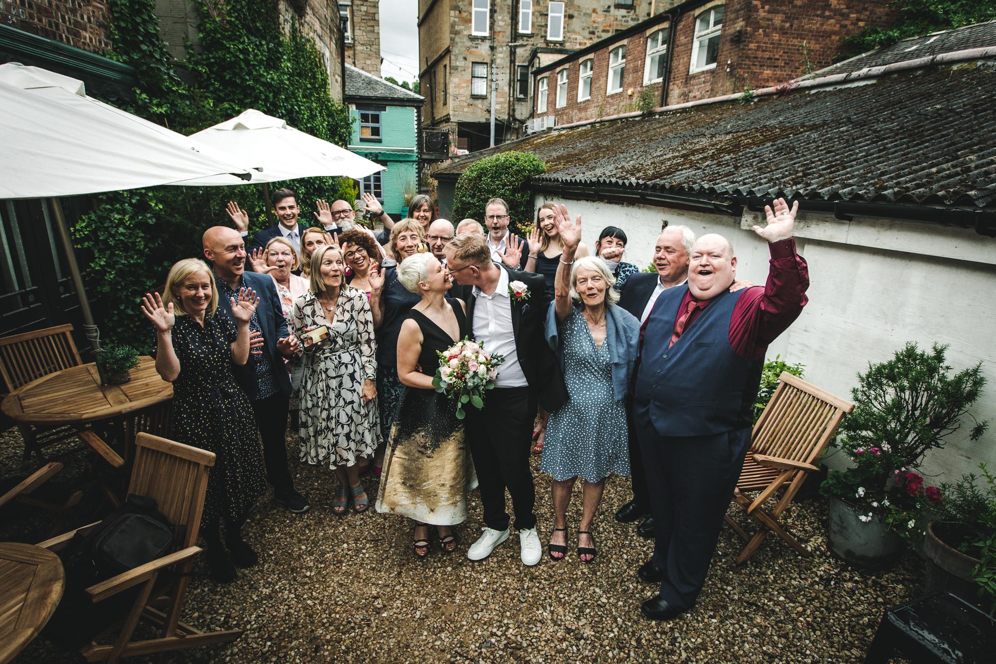 Glasgow Bothy Wedding Photographer