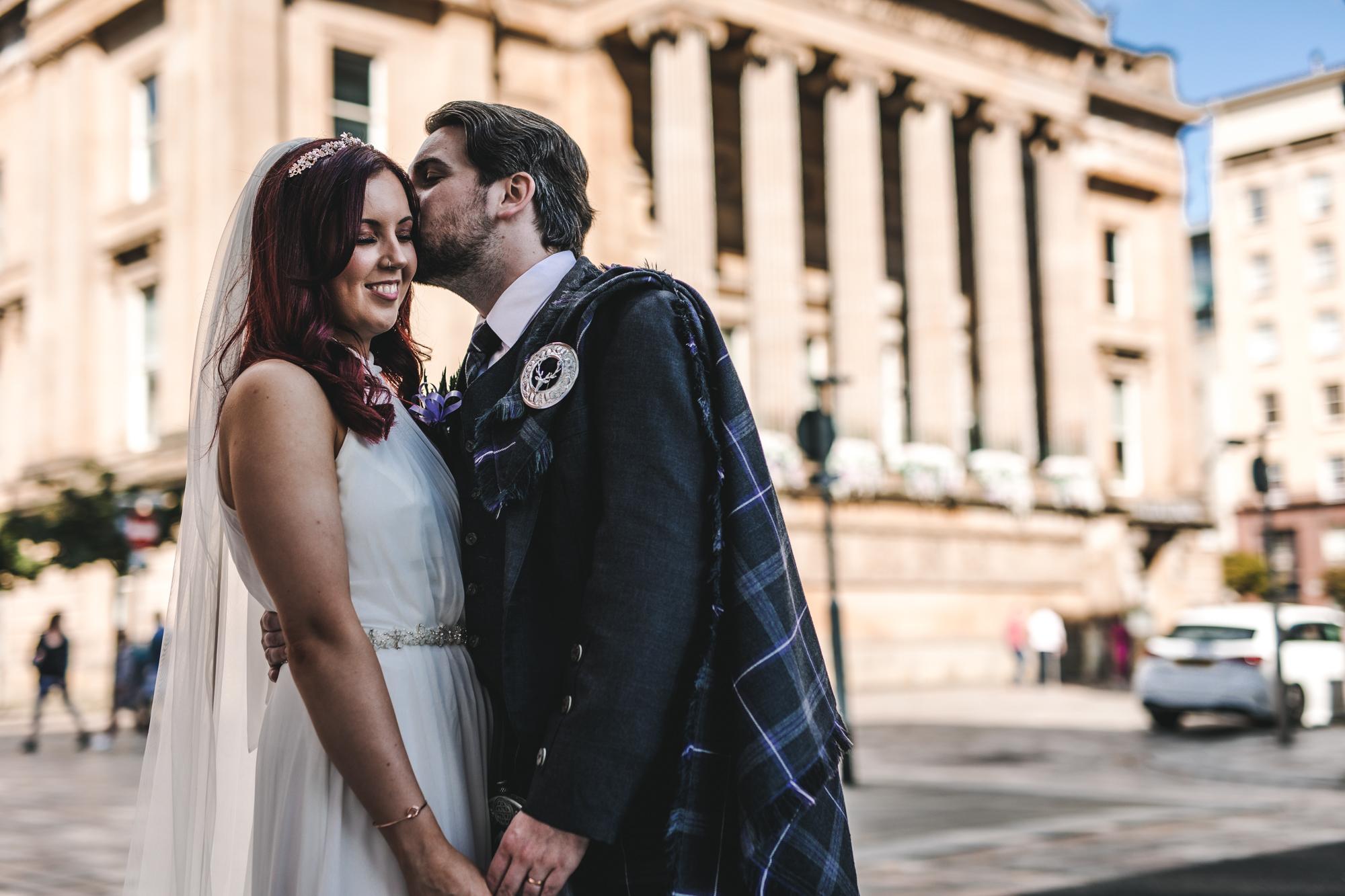 Citation Glasgow Wedding Photographer